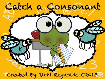 Catch a Consonant: Beginning Consonant and Word Family Review