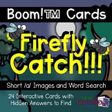 Catch a Firefly! Short /a/ Words {Boom Cards}