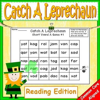 Catch a Leprechaun Short & Long Vowel