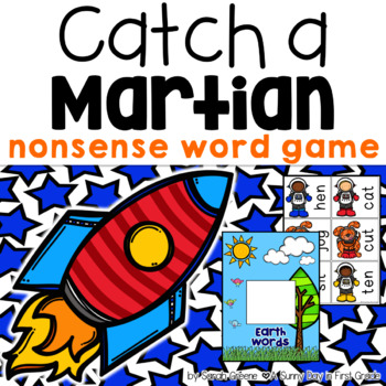 Catch a Martian! {real & nonsense word game!}