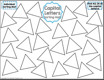 Letters - Uppercase and Lowercase
