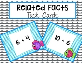 Catch a Pair - Related Facts Task Cards- Addition and Subtraction