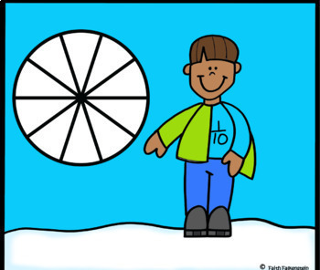 Catch a Snowflake Fractions in Google Slides™