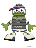Catch long and short vowels baseball theme
