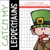 Catch my Leprechauns Coordinate Plane Game | A St. Patrick