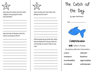 Catch of the Day, a Trickster Tale Trifold - Treasures 5th Gr U 4 Week 5 (2009)