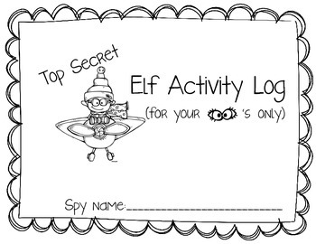 Catch that Elf Interactive Journal