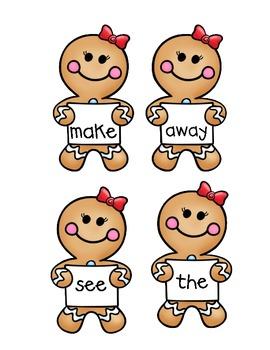 Catch that Gingerbread! FREEBIE