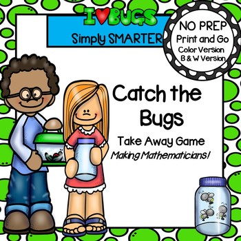 Catch the Bugs:  NO PREP Take Away Game