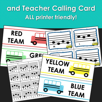 Catch the Bus: A Solfege Pattern Racing Game for Back to School (Do Mi Sol La)