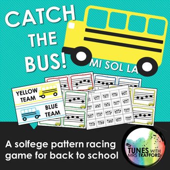 Catch the Bus: A Solfege Pattern Racing Game for Back to School (Mi Sol La)