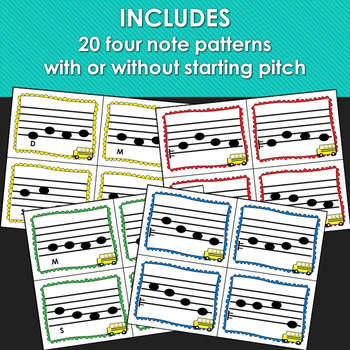 Catch the Bus: Solfege Pattern Racing Game for Back to School (Pentatonic Scale)