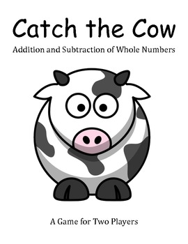 Catch the Cow - Addition and Subtraction Game