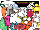 Catch the Easter Bunny Clip Art Pack
