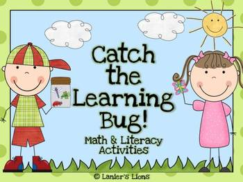 Catch the Learning Bug: Math & Literacy Activities