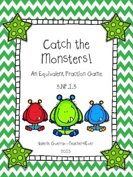 Catch the Monsters! An Equivalent Fraction Game