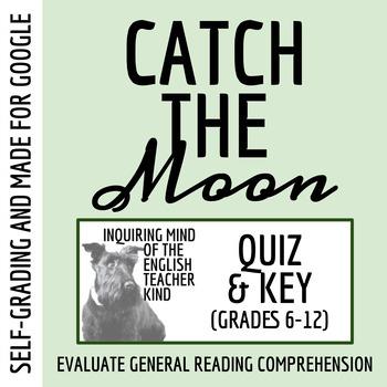 """Catch the Moon"" by Judith Ortiz Cofer - Quiz & Key"