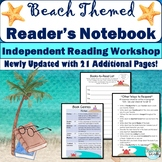 BEACH Themed Independent Reader's Notebook for Reading Workshop {Back to School}
