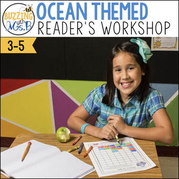 Ocean Themed Reader's Workshop Materials: Posters, Printables, and more