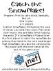 Catch the Snowflake!! CVC Game Orton-Gillingham Inspired