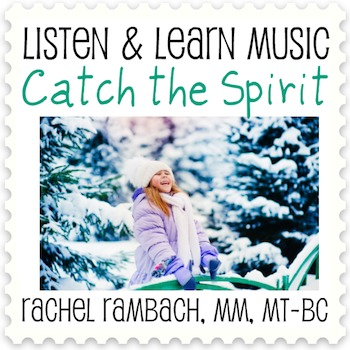 Catch the Spirit: Educational Song (MP3 + Instrumental Track + Lyrics/Chords)