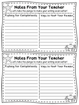 Ocean Themed Writer's Workshop Materials: Posters, Printables, and more!