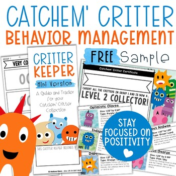 Catchem' Critters Behavior Management System (Free Sample)