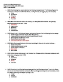 Catcher in the Rye CLEP Style Assessment 2