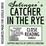 Catcher in the Rye Automatically Graded Close Reading Bund
