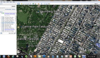 THE CATCHER IN THE RYE Google Earth Introduction Tour