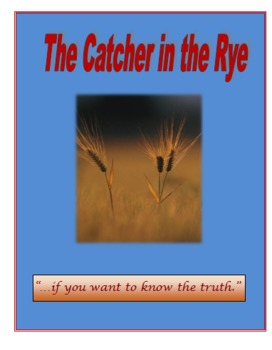 Catcher in the Rye Novel Unit Plan