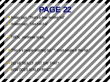 Catcher in the Rye Powerpoint  Pgs 1-35
