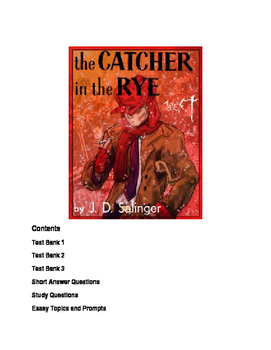 Catcher In The Rye Quizzes Study And Essay Topics By Lingua Franca  Catcher In The Rye Quizzes Study And Essay Topics