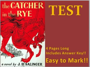 The Catcher in the Rye TEST