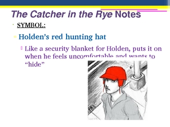 Catcher in the Rye Unit Introduction - author info, themes, etc