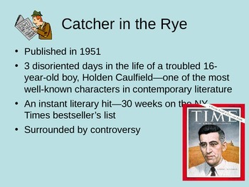 Catcher in the Rye by JD Salinger: An Introduction Powerpoint