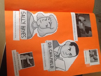 Catcher in the Rye project- create a scrapbook or Power Point presentation