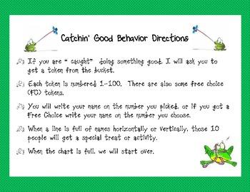 """Catchin' Good Behavior"" Behavior Management Idea"