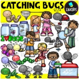 Catching Bugs Clip Art Bundle {Educlips Clipart}