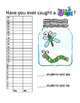 Catching Bugs Graphing Activity
