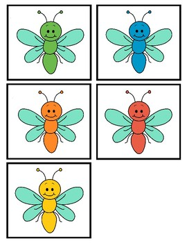 Catching Bugs (Ordinal Number Practice)