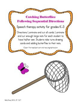 Catching Butterflies: Following Sequential Directions