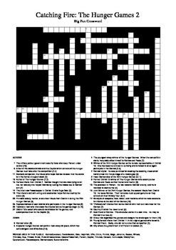 Catching Fire - Big Fun Crossword