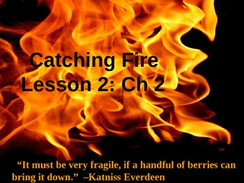 Catching Fire Chapter 2 Pre-reading Lesson