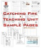 Catching Fire Complete Unit: Questions, Activities, Tests, Vocab