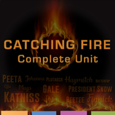 Catching Fire Complete Unit: Quizzes, Activities, Test, Writing Prompts