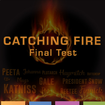 Catching Fire Final Test: Multiple Question Format