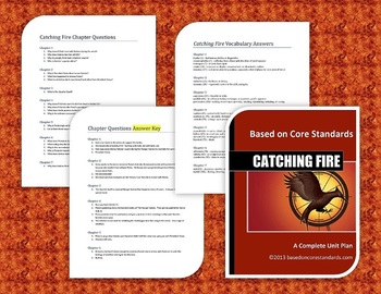 Catching Fire Lesson Plans - Unit Plan for Teaching Catching Fire