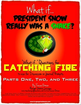 "Catching Fire ""What If"" Journal Discussion Prompts {Parts 1, 2, 3}"