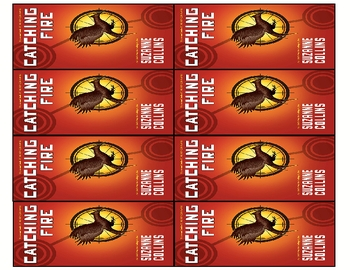 """""""Catching Fire"""" by Collins Bookmarks with Activity"""